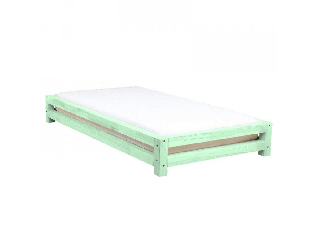 586ac2974853 Jednolôžková posteľ Japa 90x200 cm z masívu